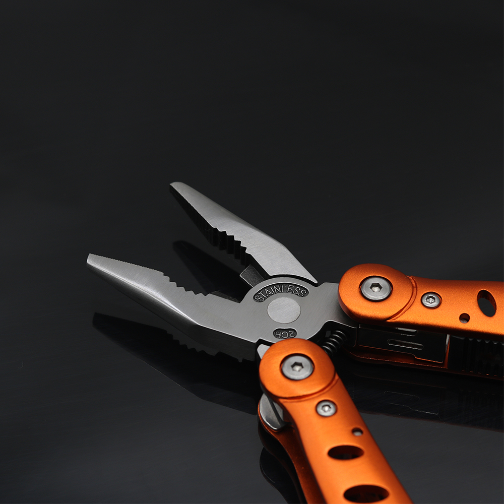 NEW Outdoor Multitool Pliers Folding Hand Multi Tool Stainless Steel Combination Knife Pliers Tool For Camping Fishing