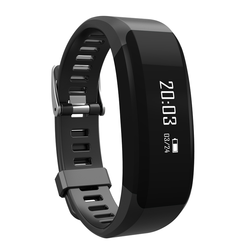 New 2017 Smart Bracelet Fitness H28 Bluetooth Wristband Heart Rate Monitor Call Reminder Touch OLED Screen