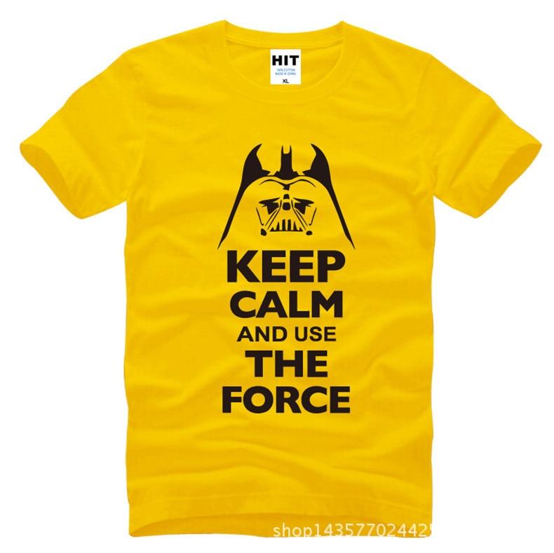 21cd497a4f1d07  BIG SALE  CHEAP STAR WARS Keep Calm and Use The Force Printed Mens Men T  Shirt Tshirt Fashion 2015 O Neck Cotton T-shirt Tee Camisetas Hombre ...