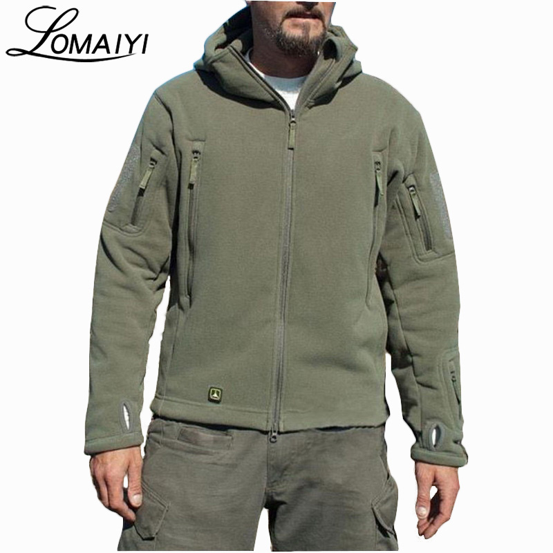 LOMAIYI Militär Tactical Jacket Coat Men 2017 Vinter Warm Army - Herrkläder - Foto 1