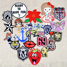 Mixed Embroidered Iron Sew On Patches