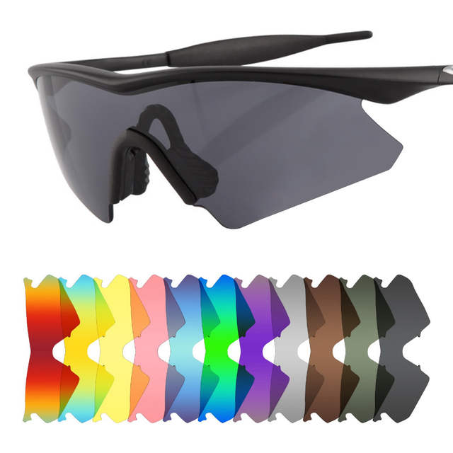 24d73bbfb53 Online Shop Mryok POLARIZED Replacement Lenses for Oakley M Frame Heater  Sunglasses Lens-Multiple Options