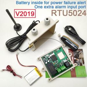 Image 1 - HUOBEI 2019 גשם הוכחת גרסה RTU5024 GSM שער פותחן ממסר מתג בקרת גישה מרחוק על ידי שיחה חינם app תמיכה