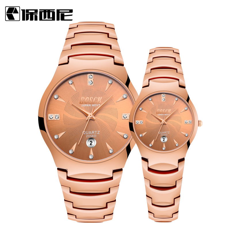 Top Lover's Watches Fashion Women Men Luxury Casual Waterproof CalendarLadies Quartz Watch Female Dress Watches relogio feminino