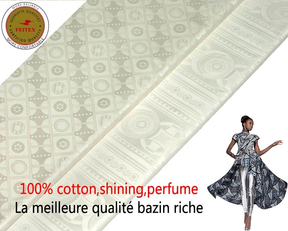 100 Cotton African Bazin Riche Fabric Milk Lace Bazin Riche Getzner 2018 High Quality Guinea Brocade