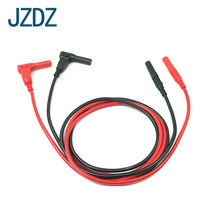 JZDZ J.70018 4mm safety protection banana plug test harness universal meter special power wire welding type