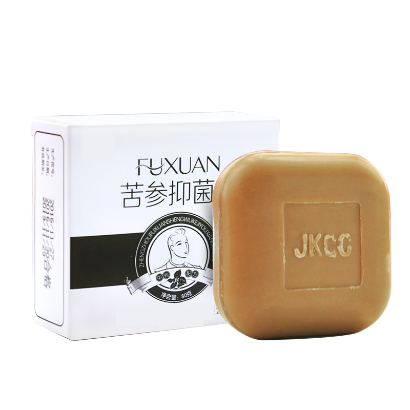 Men Bath Soap Cleansing Lower Body Parts Care Anti-itch Odor Anti-bacterial Drug Bactericidal Soap #865