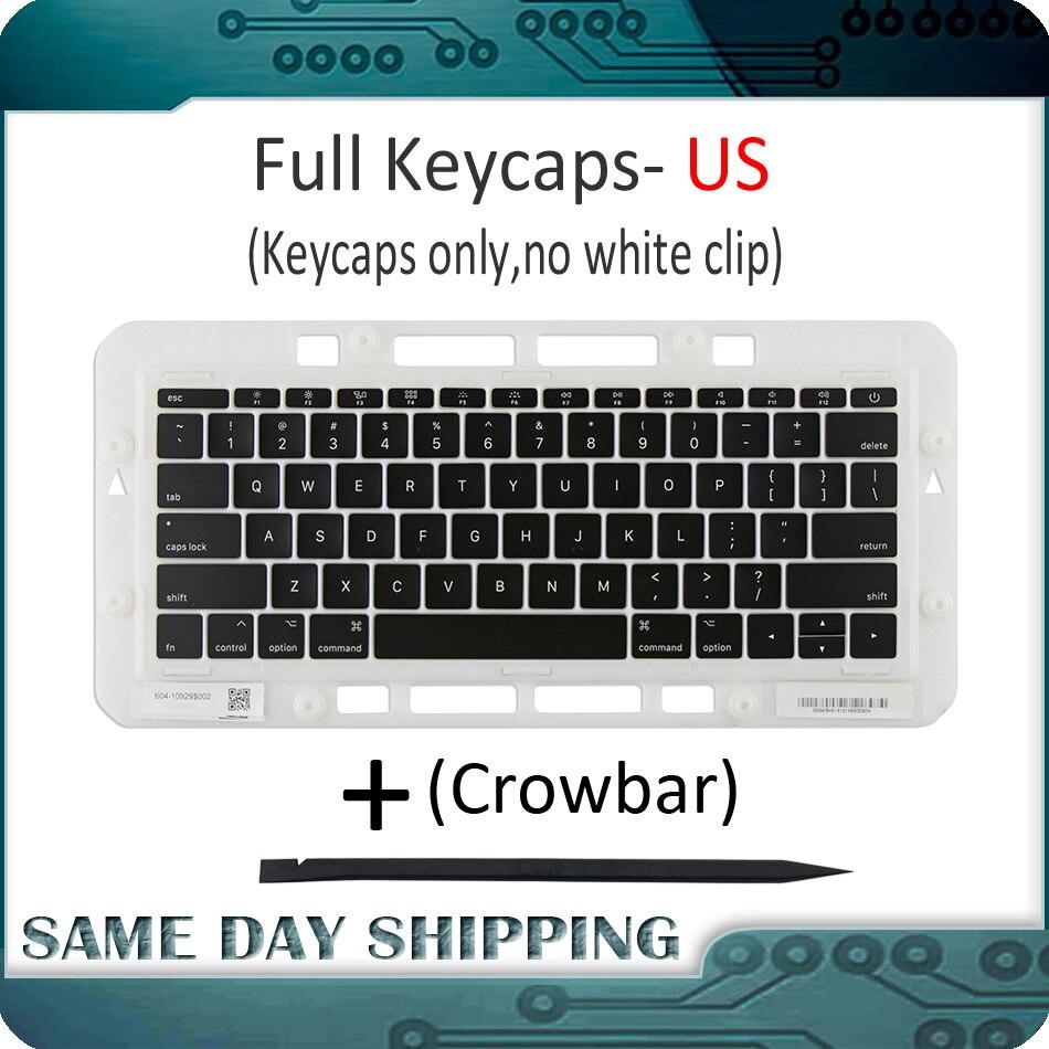 Laptop A1706 A1707 A1708 US USA Keycaps Keys America American English Keyboard Key Cap For Macbook Pro Retina 13