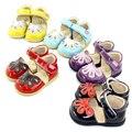 TipsieToes/Летняя детская обувь в стиле принцессы с красивым цветком; Детские сандалии на плоской подошве; Одежда для маленьких девочек в римско...