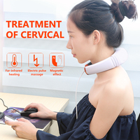Cofoe Electric Neck Therapy Massager Multifunction Magnetic Massager Instrument Cervical Heating Treatment Equipment in 2019