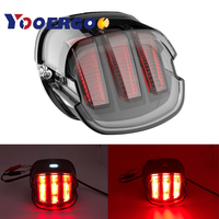 Novo Design Único Garra de Águia LED Da Cauda Da Motocicleta Luz de Freio Luz