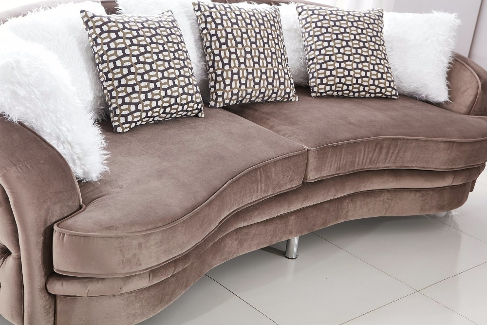 Velvet Chesterfield Sofa Design for Living Room Living Room Furniture Modern Sofa