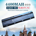 6 de celda de batería para hp compaq presario cq32 cq42 cq43 cq56 cq62 cq72 MU06 para PAVILION DM4 DV3 DV5 DV6 DV7 G4 G6 G7 G72 G62 G42