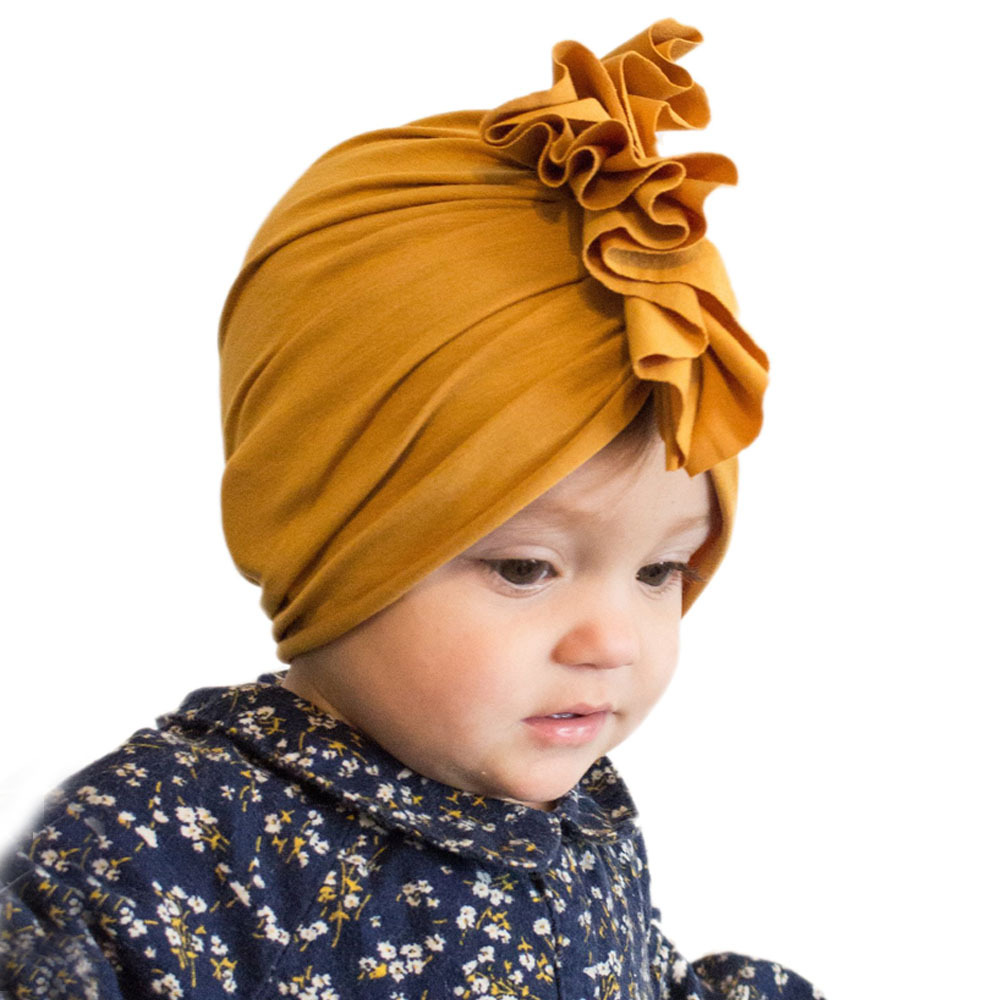 Baby Beanie Hats Turban Spring Leopard Autumn Newborn Girls Kids Children's Accessories