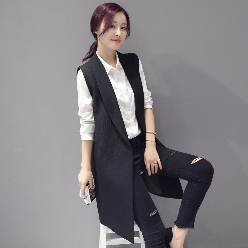 Feminino Gilets Gilet Sans Veste Lady pink Black Casual Manteau Office Bouton Femmes Couvert Élégante Colete green Pocket Manches Mode Outwear 8c6n8a1zR