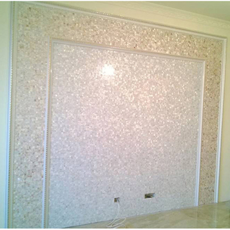 Pearl Pure White Shell Mosaic Tile