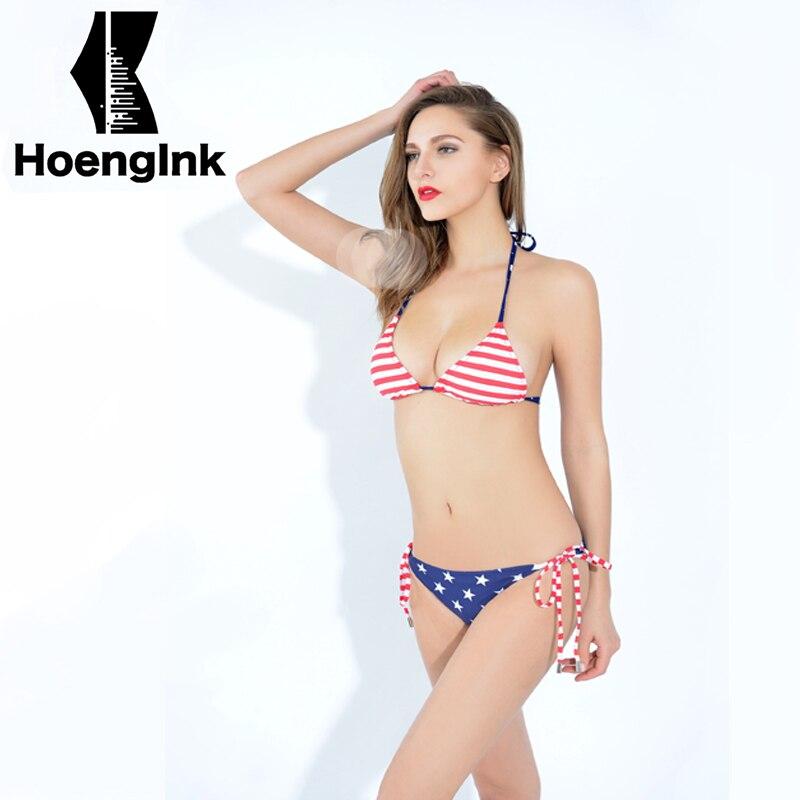 2018 Brandman American style female sexy bikini simple beach two-piece swimming pool swim suit size S to XXL 66118