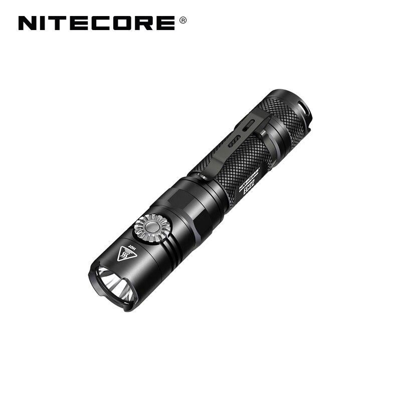 Nitecore EC22 CREE XP L HD V6 LED 1000 Lumens Infinitely Variable Brightness Portable Flashlight for