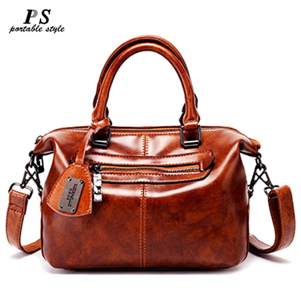High Quality Ladies 100% Genuine Leather Luxury Handbags Women Bags Designer Famous Brand Woman Bags 2019 Tote