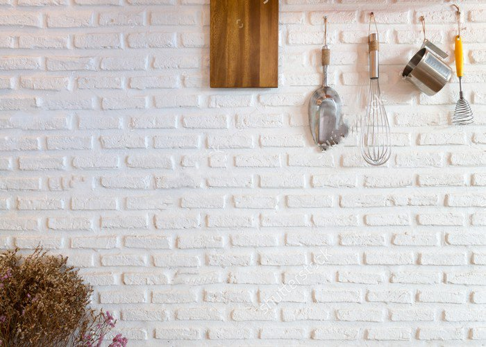 Kitchen Wall White Brick Wall photo backdrop Vinyl cloth High quality Computer printed wedding Backgrounds custom vinyl cloth broken wall photo