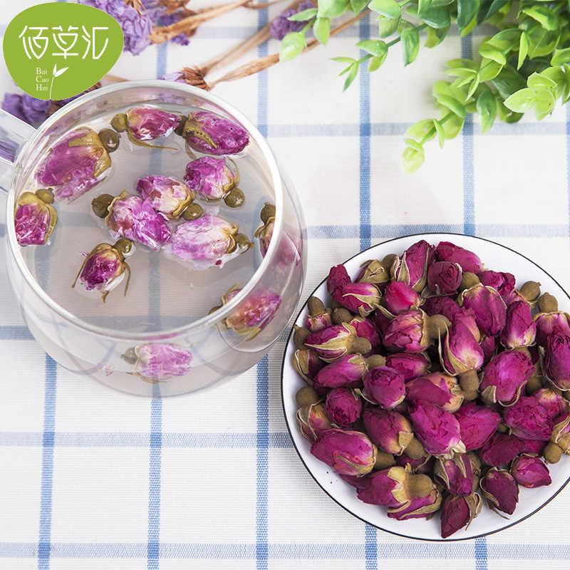 Розовый чай, бутон розы, цветочный чай, травяной чай, пинг Инь, глубокий клапан, красные розы, цветы и растения, чай