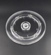 6 inch (diameter:150mm) acrylic turntable transparent swivel plate