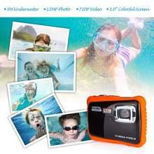 Детская камера водонепроницаемая цифровая Спортивная экшн Камера