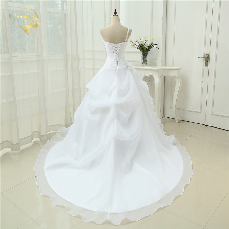 Vestido De Noiva Μια γραμμή ένα βραχιόλι - Γαμήλια φορέματα - Φωτογραφία 2