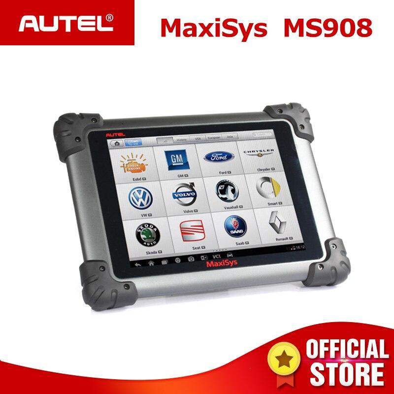 Autel MaxiSys MS908 Auto Diagnostic Scanner Sans Fil Outil De Réparation De Voiture Véhicule De Diagnostic Équipement