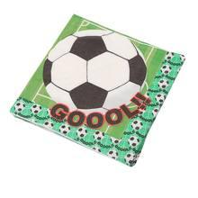 20 штук салфетки двусторонняя печать футбольные вечерние серии