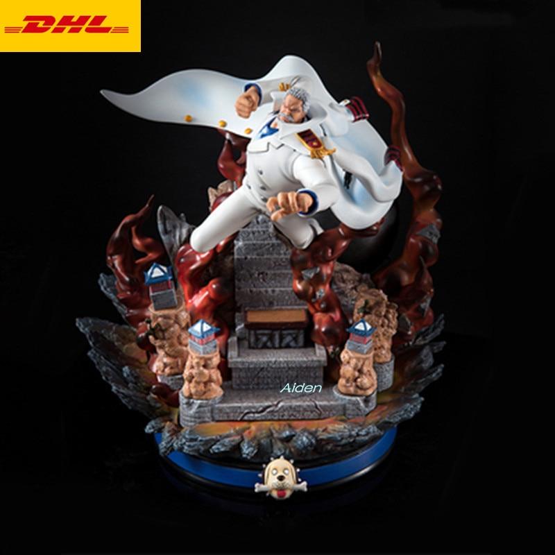 One Piece DX Gol D Roger Monkey D Garp PVC Figure Toy Gift New No Box