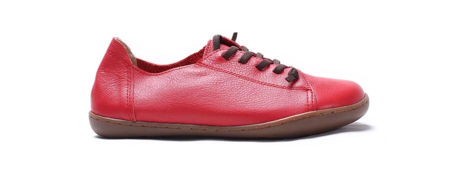 (35-42)Women Shoes Flat 100% Authentic Leather Plain toe Lace up Ladies Shoes Flats Woman Moccasins Female Footwear (5188-6) (35-42)Women Shoes Flat 100% Authentic Leather Plain toe Lace up Ladies Shoes Flats Woman Moccasins Female Footwear (5188-6) HTB1 KTeSXXXXXaJaXXXq6xXFXXXu