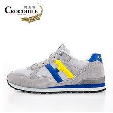 Crocodile New 2017 Men's Athletic Sports Shoes Male Zapatillas Wear-resist Cushioning Jogging Shoes Sneakers Men Sport Shoes