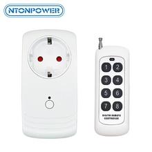 NTONPOWER Wifi الذكية مقبس الطاقة الاتحاد الأوروبي التوصيل اللاسلكية APP عن بعد مؤقت تحكم عن بُعد التبديل العمل مع اليكسا للأتمتة المنزلية الذكية