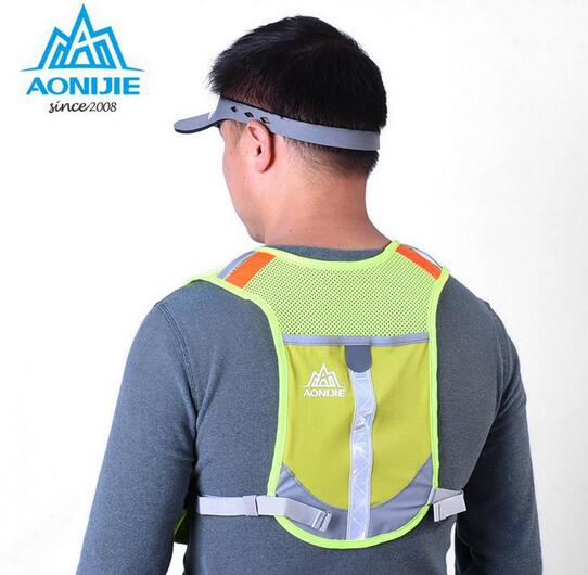 AONIJIE Lightweight Women Men Running Backpack Outdoor Sports Trail Racing Marathon Hiking Fitness Bag Hydration Vest Pack цена