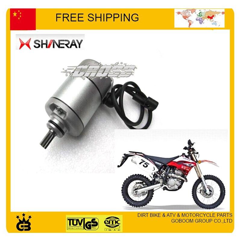 SHINERAY 250cc X2 X2X démarreur électrique démarrage électrique moteur accessoires livraison gratuite