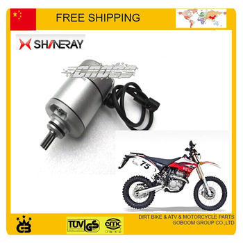 SHINERAY 250cc X2 X2X electric starter electric start motor accessories free shipping
