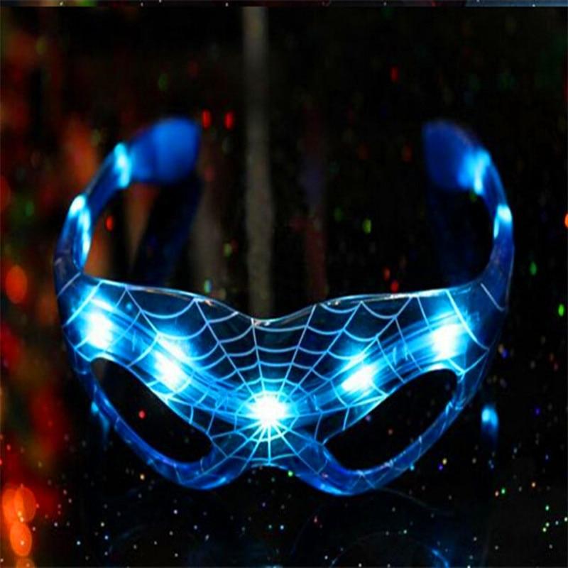 10 adet / grup Parti Dekorasyon LED Spiderman Gözlük Doğum Günü - Tatiller ve Partiler Için - Fotoğraf 4