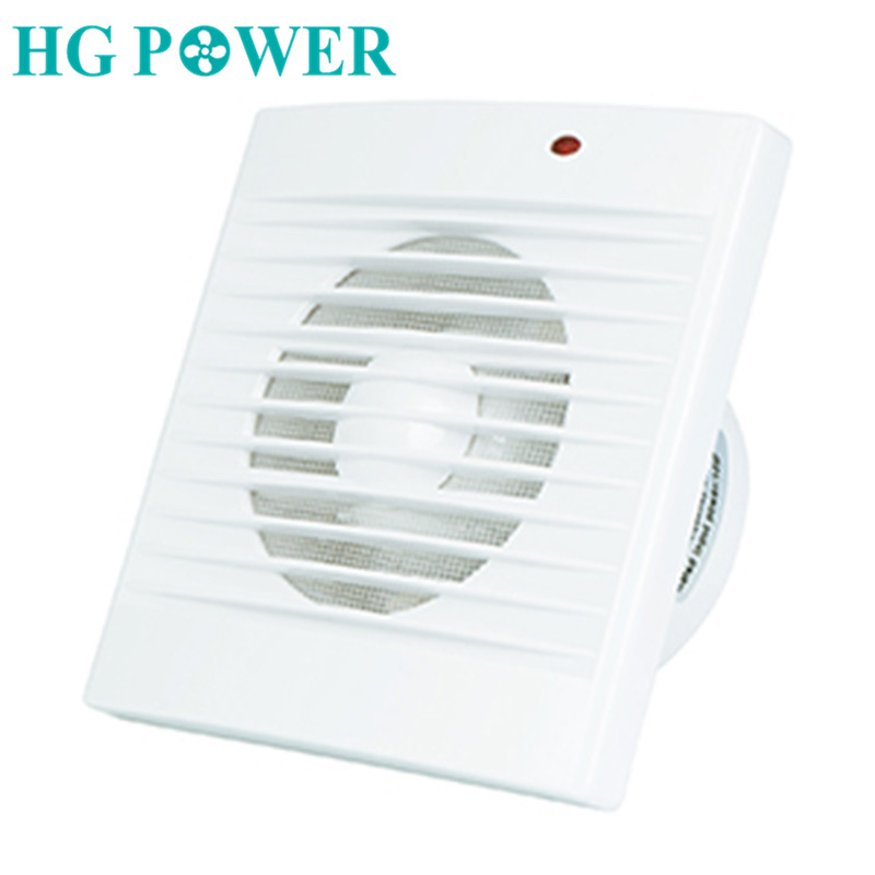 4'' 220V Bathroom Exhaust Fan 110V Air Extractor Ventilation Grill Vent Duct Window Ceiling Ventilation For Home Kitchen Toilet