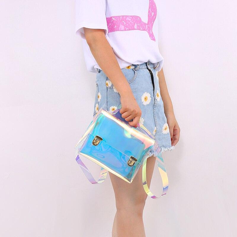 holograma bolsas mulheres famosa marca Formato : Mochilas