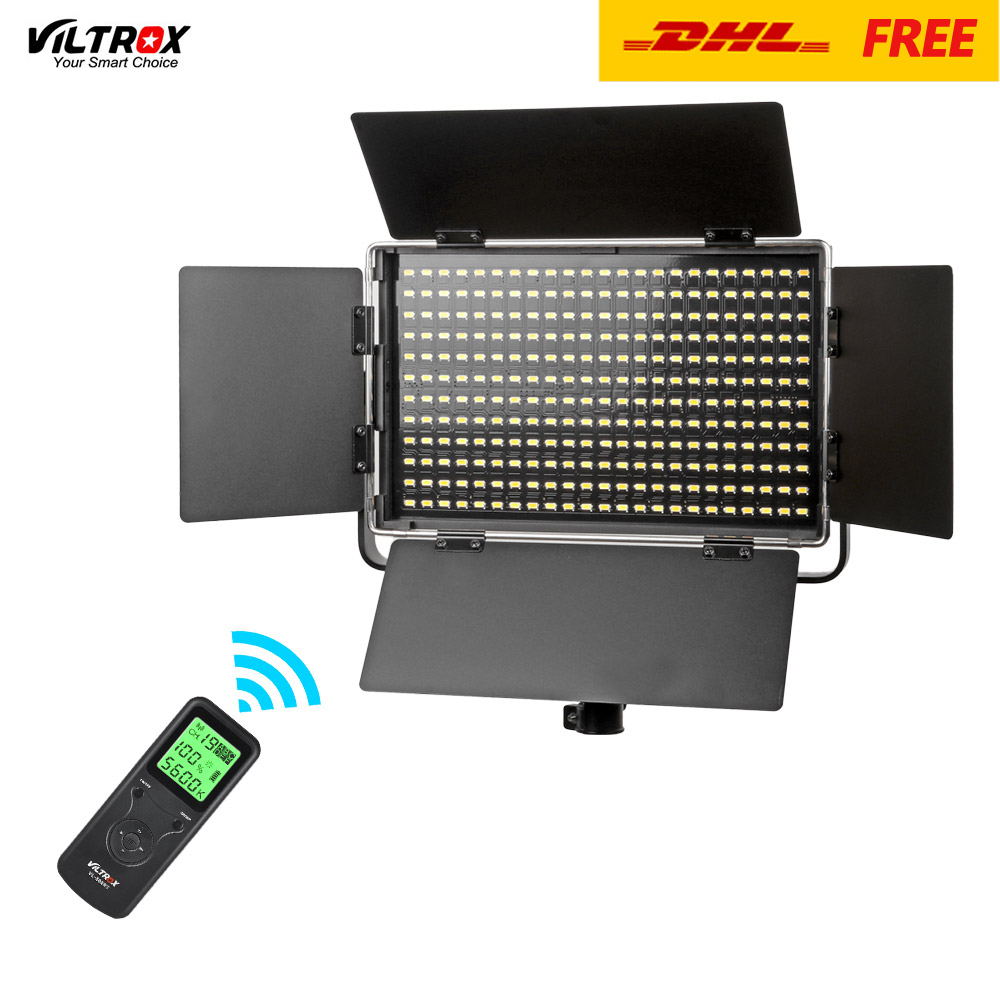 Us 216 0 30 Off Viltrox Vl S50b 276 Led Video Light Panel 50w Dimmable 5600k For Canon Nikon Sony Dslr Camera Camcorder Photography Lighting In