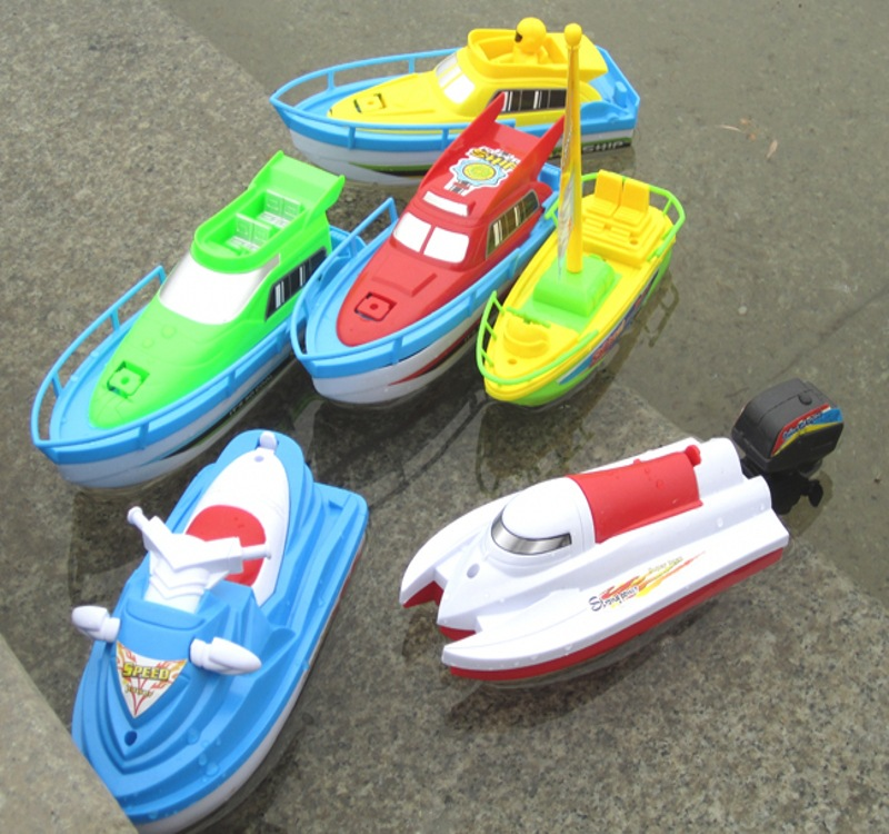 freeship Electric Boats modeltoy yacht motorboat very cool baby ...