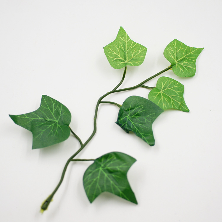 artificial flowers supply silk leaves rattan DIY rose vine wedding flower arch background