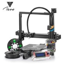 TEVO Tarantula 3D Printer Impresora 3D Aluminium Extrusion Impresora 3D 2 Rolls Filaments SD Card Titan extruder As Gift