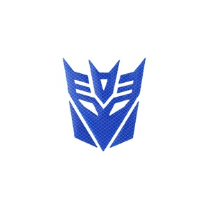 Image 4 - 3d Reflective  Warning Car Sticker Transformers For Car Auto logo Window Tail Car Body Decoration Car Styling