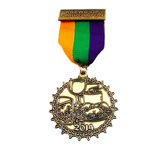 Custom Cheap medal Zinc Alloy Soft Enamel Metal Medal