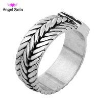 316L нержавеющая сталь ручной работы Будда кольцо унисекс байкерское кольцо, панковое европейский стиль для мужчин цепи кольца для женщин юв...