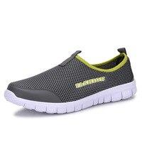 2017 Men Shoes Summer Shoes Light Comfortable Men Casual Shoes zapatos hombre Mesh Breathable Loafers Footwear Plus Size 38-46 2