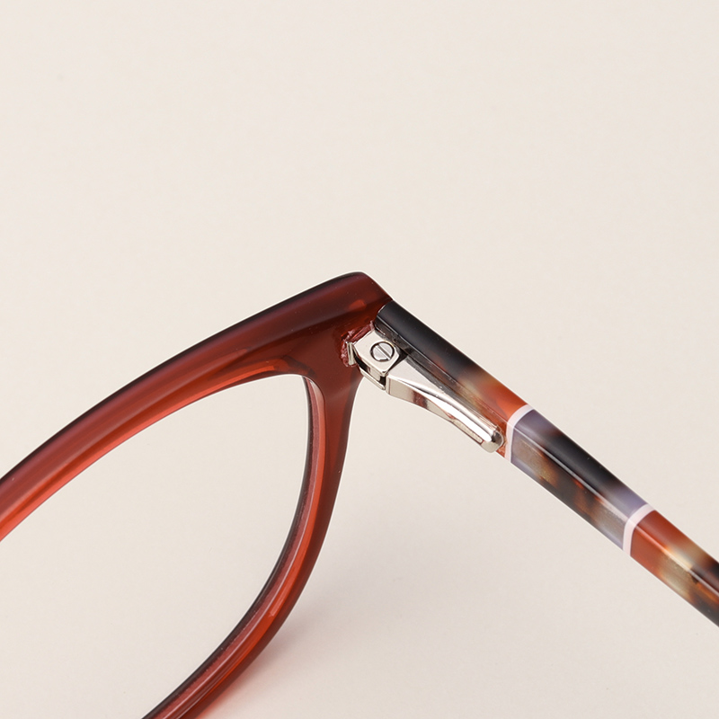 21f3947f4a Γυναίκες   s γυαλιά Acetate Glasses Women Optical Retro Myopia With Diopter  Lens Aspherical Transition Computer Reading Prescription Glasses  F1706