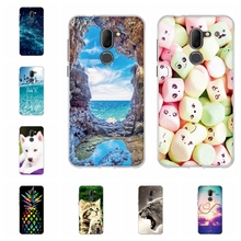 For Alcatel 3X Phone Case Ultra-slim Soft TPU Silicone 3x Cover Cute Cartoon Patterned alcatel Shell Bumper